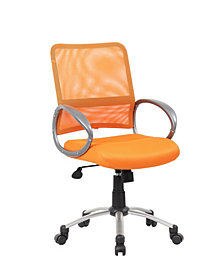 Boss Office Products Adjustable Breatheable Task Chair