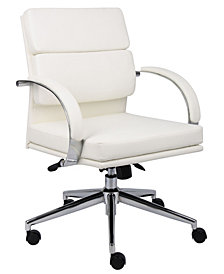 Boss Office Products Contemporary Mid-back Executive Chair