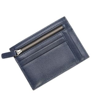 Image of Royce Rfid Blocking Slim Card Case Wallet in Saffiano Leather