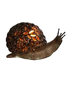 Jewel Snail Accent Lamp
