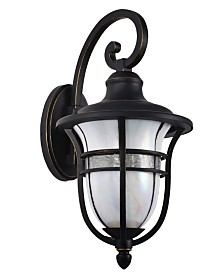 "Dale Tiffany Kenya 17.5""H Outdoor Tiffany Wall Sconce"