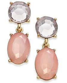 I.N.C. Gold-Tone Drop Earrings, Created for Macy's