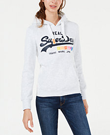 Superdry Logo Graphic Hoodie