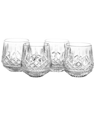 Barware, Lismore Old Fashioned Glasses, Set of 4