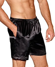 Men's Satin Boxer Shorts