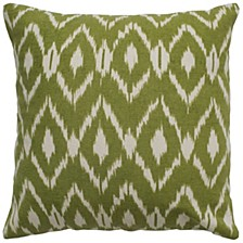 "18"" x 18"" Ikat Pillow Cover"