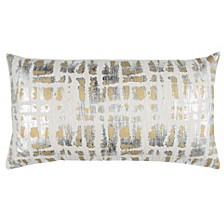 """Donny Osmond 14"""" x 26"""" Abstract Design Pillow Collection"""