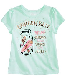 Epic Threads Little Girls Unicorn Bait Graphic T-Shirt, Created for Macy's