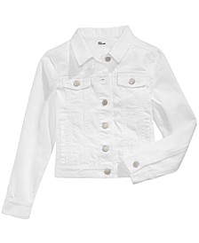 Big Girls Cotton Denim Jacket, Created for Macy's
