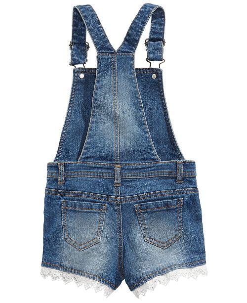 6e3c4305b72 Epic Threads Toddler Girls Embroidered Denim Shortalls