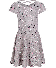 Epic Threads Super Soft Toddler Girls Splatter-Print Criss-Cross Dress, Created for Macy's