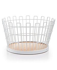 Small White Wire Basket, Created for Macy's
