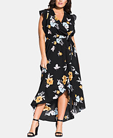 City Chic Trendy Plus Size Zinnea Maxi Dress