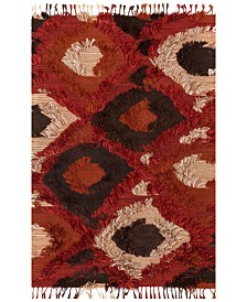 """Justina Blakeney Fable FD-05 Spice 18"""" Square Swatch"""