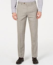 Men's UltraFlex Classic-Fit Plaid Pants