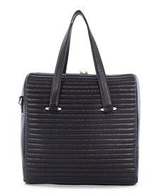 Céline Dion Collection Leather Vibrato Large Satchel