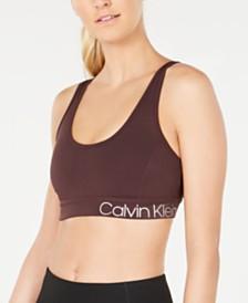 e16e2044528 Calvin Klein Performance Strappy-Back Low-Impact Sports Bra