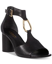 Lauren Ralph Lauren Elesia Leather Sandals