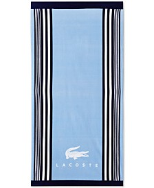 "CLOSEOUT! Lacoste Oki Cotton 36"" x 72"" Beach Towel"