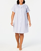 024375b2b16 Miss Elaine Plus Size Pajamas   Robes for Women - Macy s