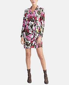 RACHEL Rachel Roy Ginger Printed Blazer Dress, Created for Macy's