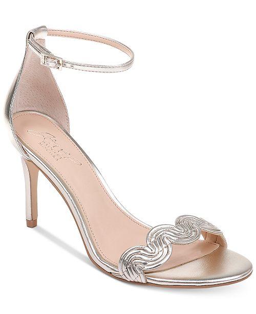 06138333a Jewel Badgley Mischka Doria Evening Sandals & Reviews - Sandals ...