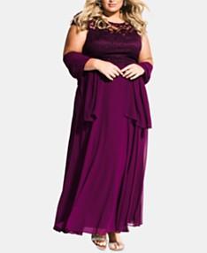 fd376f6d54940 Plus Size Prom Dresses 2019 - Macy's