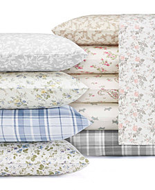 Laura Ashley Flannel Sheet Sets
