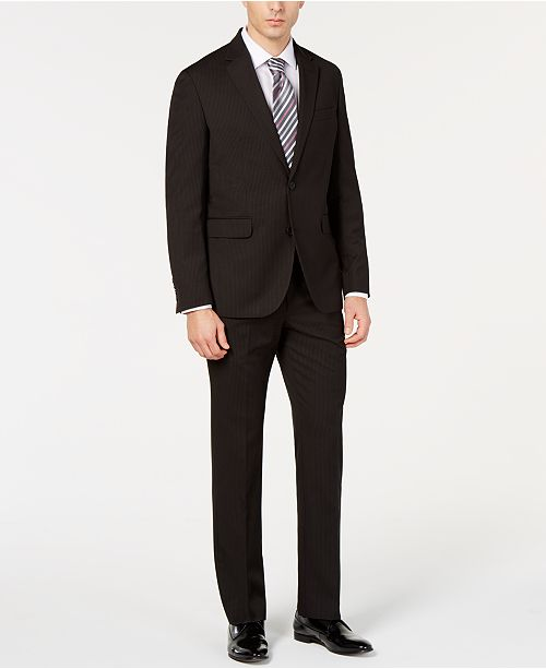 Dockers Men's Modern-Fit Stripe Suit