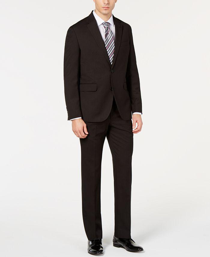 Dockers - Men's Modern-Fit Stripe Suit