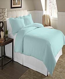 Luxury Size Cotton Flannel Duvet Set