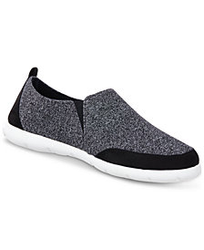 Isotoner Signature Men's Zenz Sport-Knit Slippers