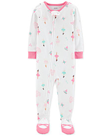 Carter's Baby Girls Ballerina Cotton Footed Pajamas