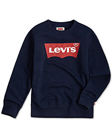Levi's® Big Boys Logo Fleece Sweatshirt