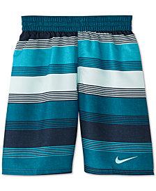 """Nike Big Boys 6:1 Linen Breaker 8"""" Volley Swim Trunks"""