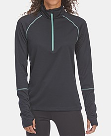 EMS® Women's Techwick Midweight 1/4-Zip Base Layer Top