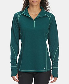 EMS® Women's Techwick® Dual Thermo II Athletic-Fit 1/2-Zip Pullover