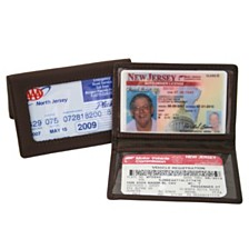 Royce ID Holder Credit Card Wallet in Genuine Leather