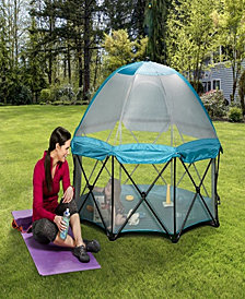 Regalo Deluxe My Play, 8 Panel Portable Play Yard Teal