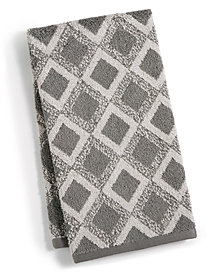 "Hotel Collection Tile Diamond 16"" x 30"" Hand Towel, Created for Macy's"