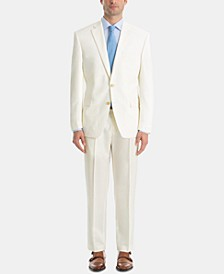 Men's UltraFlex Classic-Fit Twill Wool Suit Separates