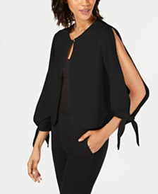 julia jordan Tie-Sleeve Shrug
