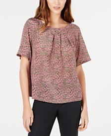 Weekend Max Mara Silk Bow Top