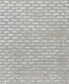 "Surya Atlantis ATL-6001 Medium Gray 18"" Square Swatch"