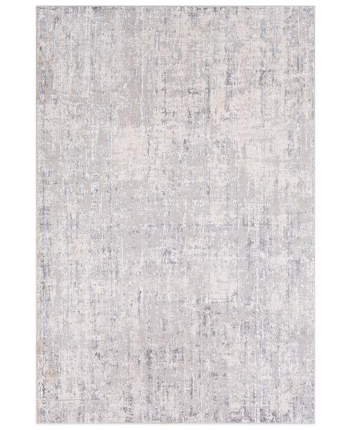 "Surya Aisha AIS-2305 Light Gray 6'7"" x 9'6"" Area Rug"