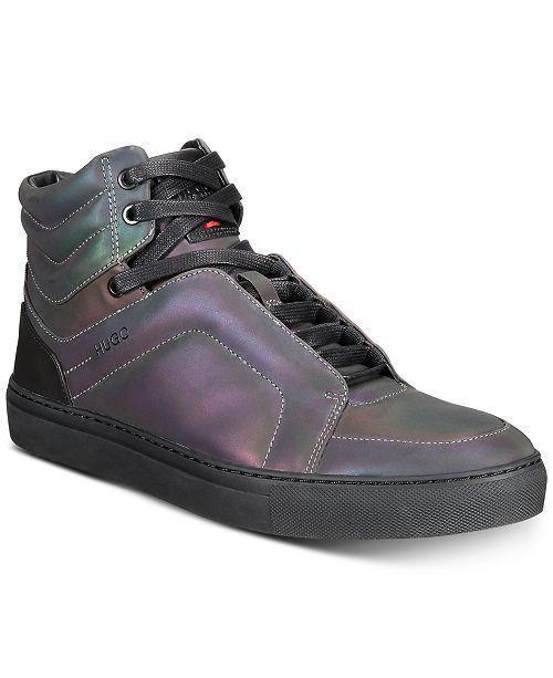 cf05a21f630 Hugo Boss HUGO Men s Futurism High-Top Sneakers   Reviews - All ...