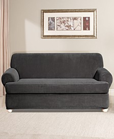 Stretch Pinstripe Slipcover Collection