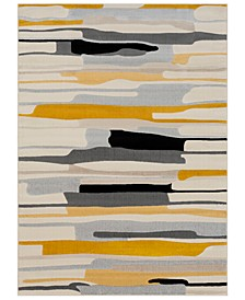 "City CIT-2340 Mustard 7'10"" x 10'3"" Area Rug"