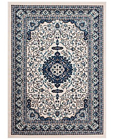 "CLOSEOUT! Clairmont CMT-2307 Navy 3'11"" x 5'7"" Area Rug"