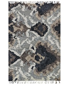 "Justina Blakeney Fable FD-03 Granite 5' x 7'6"" Area Rug"